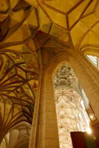 gotische Gewölbe